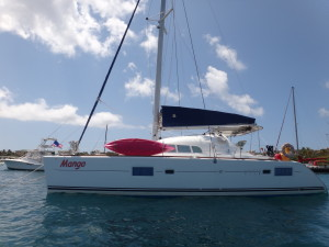 S/V Mango available for daysails and charters in the Virgin Islands