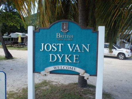 Welcome to Jost Van Dyke, BVI