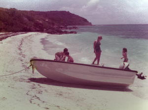 BVI - Family vacation - May, 1974