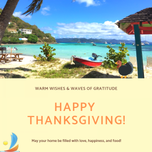 happy thanksgiving from tyl adventures